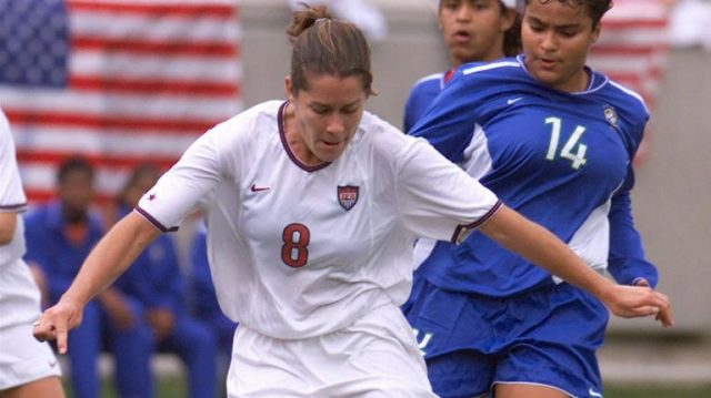 LI's Shannon Mac Millan still opening doors in soccer world
